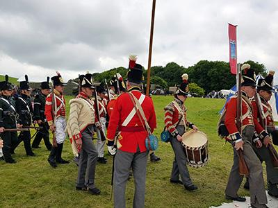 Soldiers of the Napoleonic era