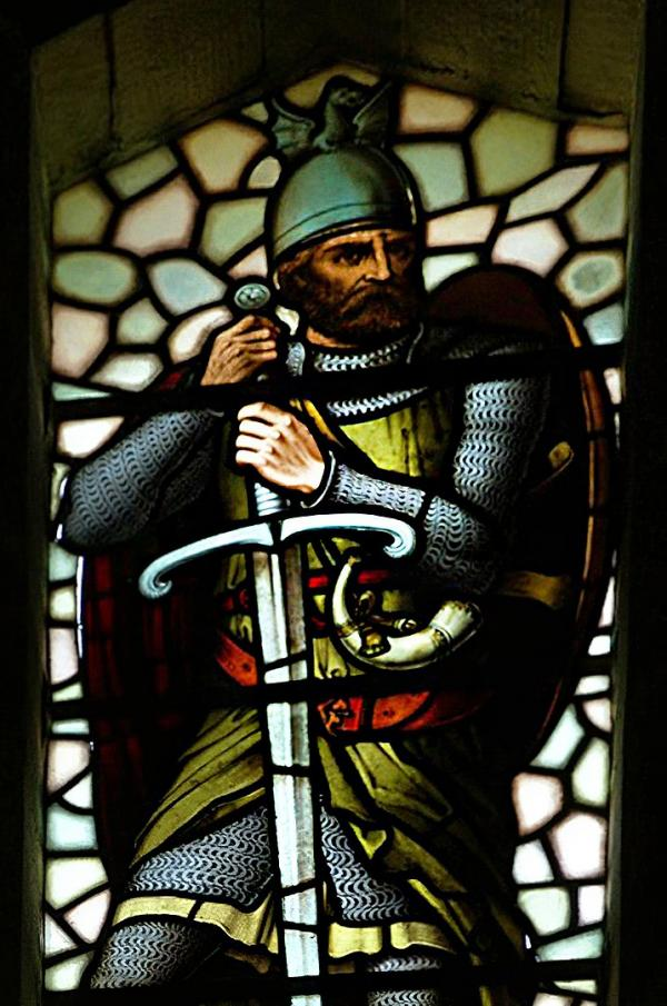 William Wallace stained glass