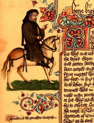 Chaucer from the Ellesmere Manuscript