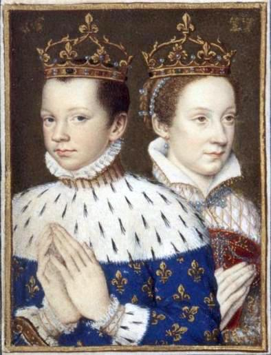 Mary Queen of Scots and Francois II
