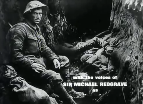 Still from 'The Great War' introduction sequence