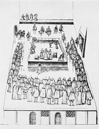 Mary Queen of Scots' execution