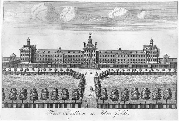Bethlem Hospital at Moorfields.