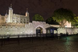 The Tower of London by Night. Photo by James Petts