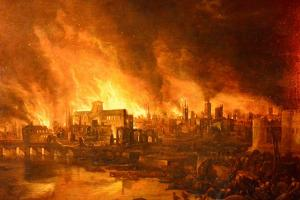 Great Fire of London (c) Museum of London
