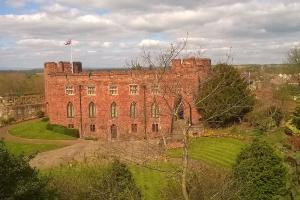 Shrewsbury Castle looking West by Micolo J