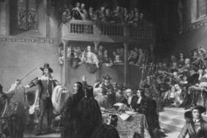 The trial of Charles I