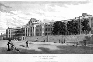 New Bethlem Hospital, St George's Fields, 1817