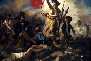 Liberty Leading the People - Eugène Delacroix (1830)