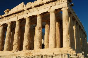 The Parthenon in Athens
