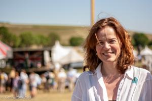 Helen Castor at Chalke Valley History Festival 2018