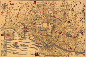 Edo period map