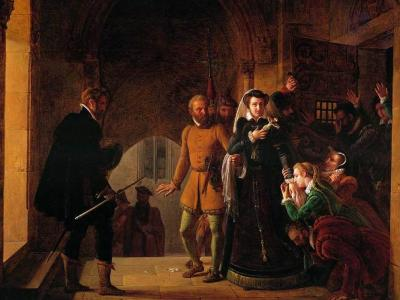 Pierre Henri Révoil, Mary Queen of Scots Separated from Her Faithfuls, 1822