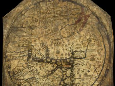 Hereford mappa mundi (13th century)