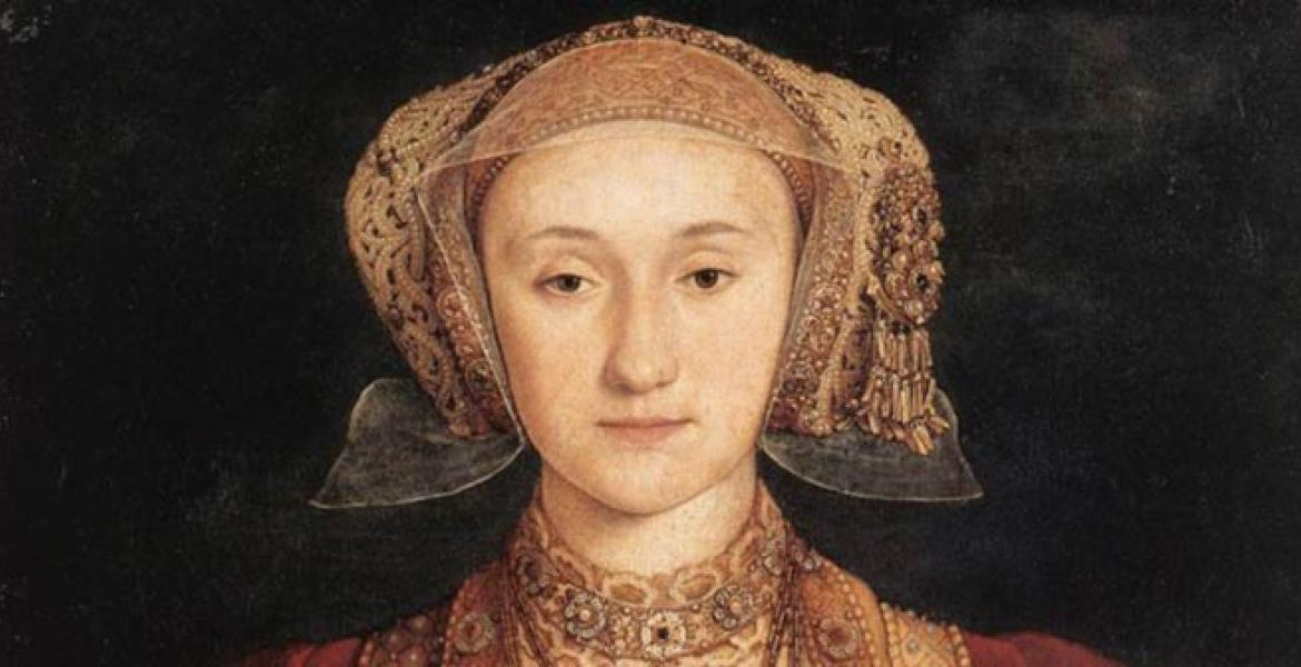 Holbein's portrait of Anne of Cleves, 1539
