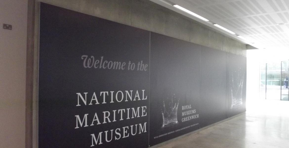 The National Maritime Museum, Sammy Ofer Wing. Photo by Elliott Brown
