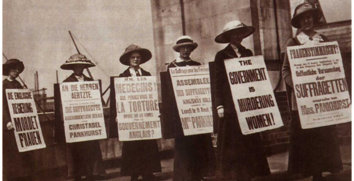 Suffragettes in London