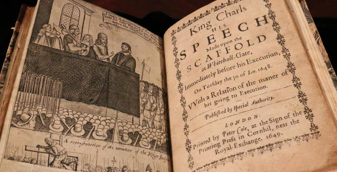 Charles I's Scaffold Speech
