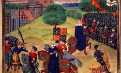 Death of Wat Tyler during the Peasants' Revolt