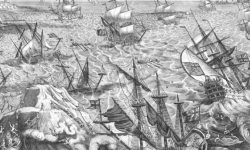 The Great Storm of 1703 Goodwin Sands
