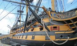 HMS Victory. Photo by Amanda Slater