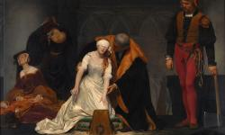 Paul Delaroche: 'The Execution of Lady Jane Grey'
