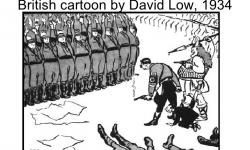 David Low cartoon, 1934