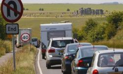Stonehenge traffic