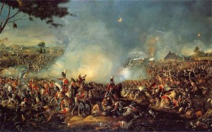 Battle of Waterloo by William Sadler II