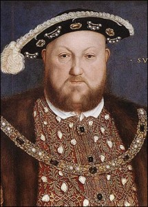Henry VIII: fat and stinking