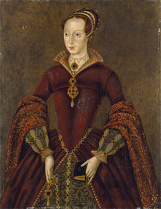 The Streatham portrait of Lady Jane Grey before her marriage (although the picture actually dates from the 1590s). It is now in the National Portrait Gallery.