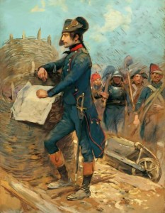 Napoleon at the Siege of Toulon, by Edouard Detaille