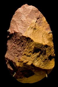The red quartzite axe known as Excalibur