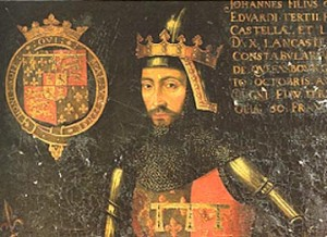 John of Gaunt, Richard II's uncle and chief adviser