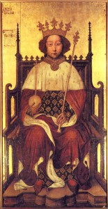 Richard II, ascended the throne aged only 10 years