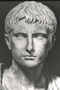 Octavian, the adopted son of Caesar, who became the first Roman emperor
