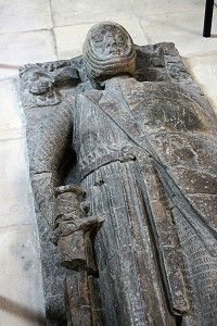 Tomb effigy of William Marshal in Temple Church, by Michel Wal