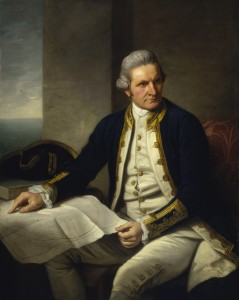 Captain James Cook, by Nathaniel Dance.