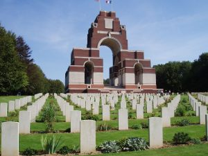 Thiepval Memorial to the Missing of the Somme, by Amanda Slater