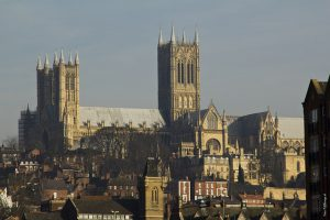 Work began on Lincoln Cathedral in 1072.