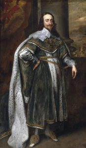Anthony van Dyck's portrait of Charles I, 1636